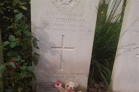 joe strudwick dorking name caign to remember fallen soldiers