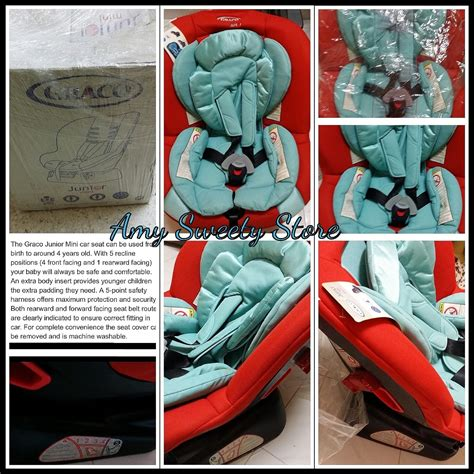 Graco Infant Carseat Car Seat Bayi Newborn Ayunan Baby Carrier sweety store graco mini junior car seat