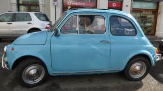 Fiat 500 Pale Blue Fiat 500 In Light Blue 1968 1972