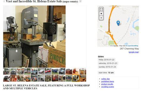 Garage Sale Finder Craigslist How To Find Quality Tools For Cheap On Craigslist Shop Time