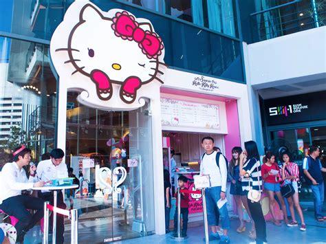 hello kitty house hello kitty house bangkok thailand world for travel