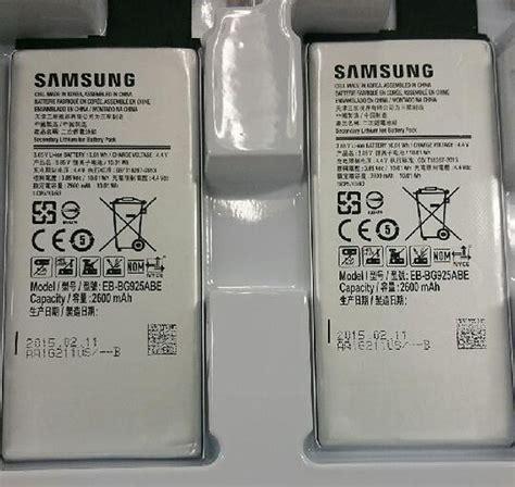 Baterai Battery Batere Samsung Galaxy S6 Original Sein 100 galaxy s6 battery leaked ubergizmo