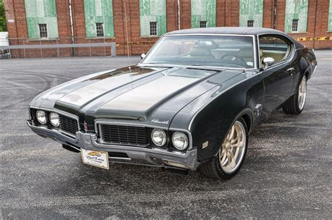 modded muscle cars 1969 oldsmobile cutlass resto mod muscle car
