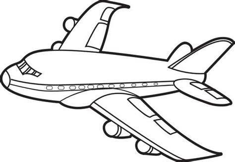 airplane clipart coloring page 21 airplane coloring pages free word pdf jpeg png