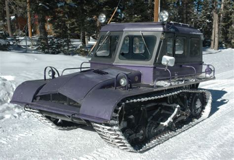 snow for sale 1967 snow trac duck creek ut sold ewillys