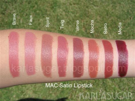 Mac Satin Lipstick Faux mac lipstick recap swatches photos reviews