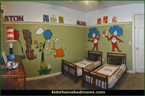 dr seuss bedroom ideas decorating theme bedrooms maries manor dr seuss theme