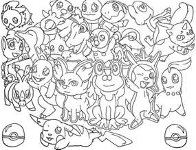 Starter Pokemon Coloring Pages Sketch Page sketch template