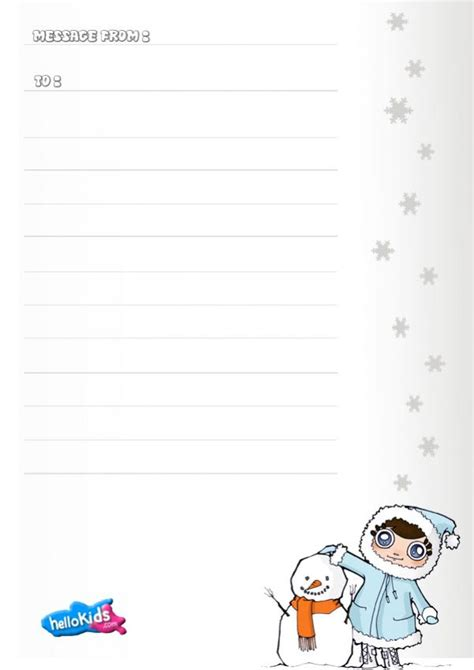 lined paper with snowman border snowman themed writing paper search results calendar 2015