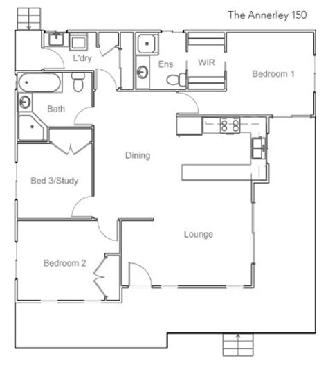 queenslander floor plan queenslander