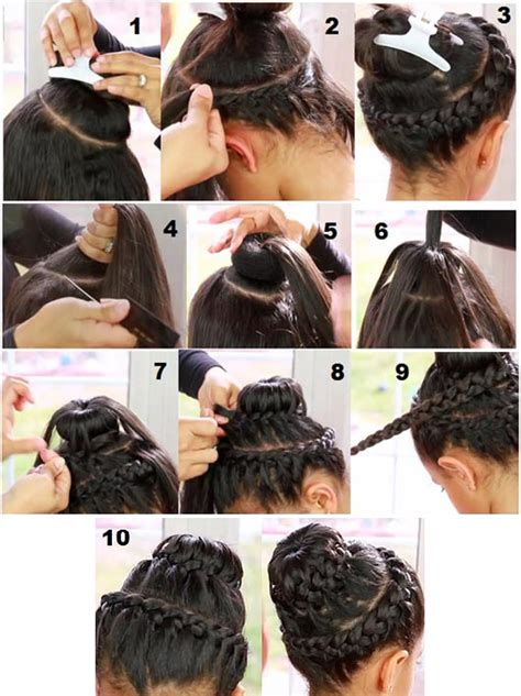 show a picture of pigtail braids wrestling guide hairstyle for party wear hairstyles