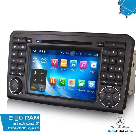 Ram Android 218 j mercedes aut 211 hifi m 225 rka specifikus 7 quot aut 243 hifi magyar waze
