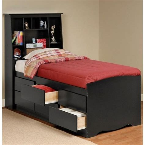twin headboards with storage sonoma black tall twin storage bed and headboard bed