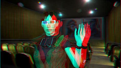 imagenes en 3d gafas de cine personaje virtual resident evil milla jovovich iclone