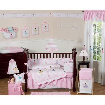 Ballerina Crib Bedding Collection Ballerina Crib Bedding