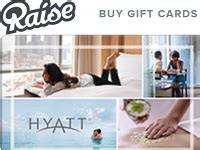 Raise Discount Gift Cards - raise bonus 3 off discount hyatt gift cards gift cards no fee