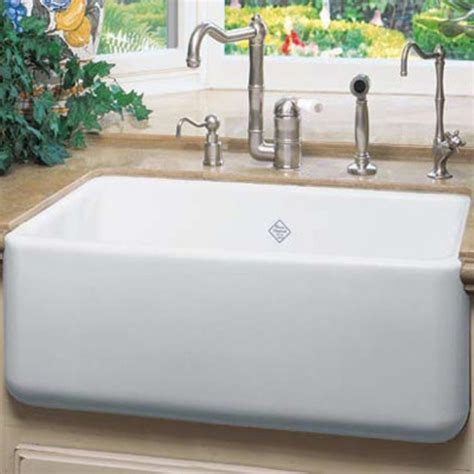 Shaws Kitchen Sinks by Rohl Rc2418 Shaws Original Single Basin Farmhouse Sink