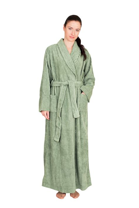 chenille robes ndk new york length chenille robe 100 cotton