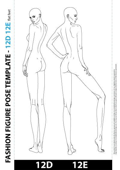 fashion design figure drawing templates best 25 template ideas on fashion