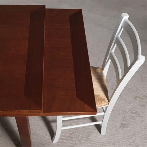 tavolo allungabile classico tavolo da pranzo legno noce stile classico o country