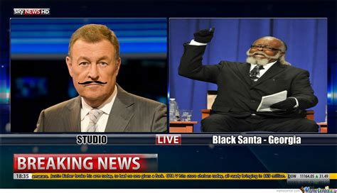 Black Santa Meme - black santa on the news by sticktrickguy meme center