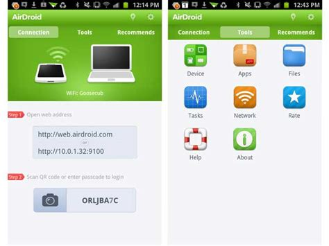 Airdroid android client out of date