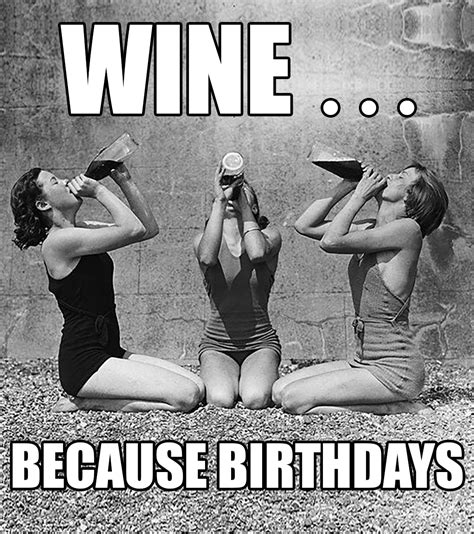 Birthday Wine Meme - how to make a meme wine label