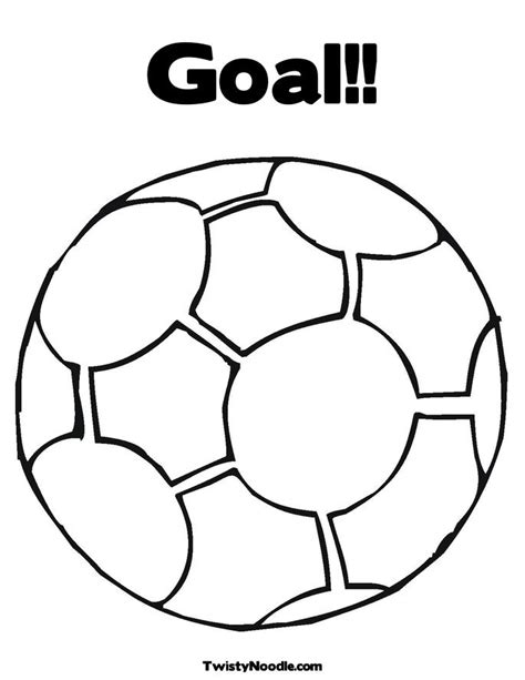 free coloring pages of soccer ball