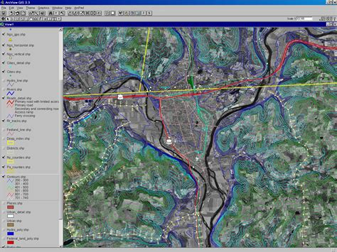 gis maps gis map appalachian basin satellite imaging corp