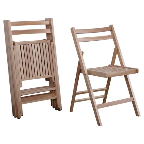 Set Of 4 Patio Chairs Set Of 4 Wood Folding Chairs Finish Patio Garden