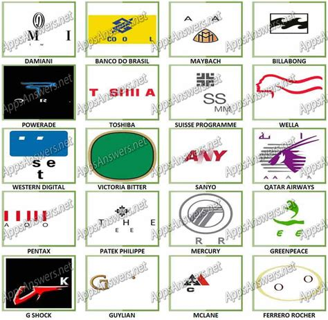 logo level 25 answers image gallery logos level 24