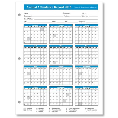 2015 attendance calendar form 25 pk human resource forms 2016 free printable attendence calendars calendar