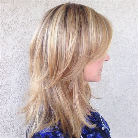 Hairstyles For Layered Hair by 70 Darn Cool Medium Length Hairstyles For Thin Hair
