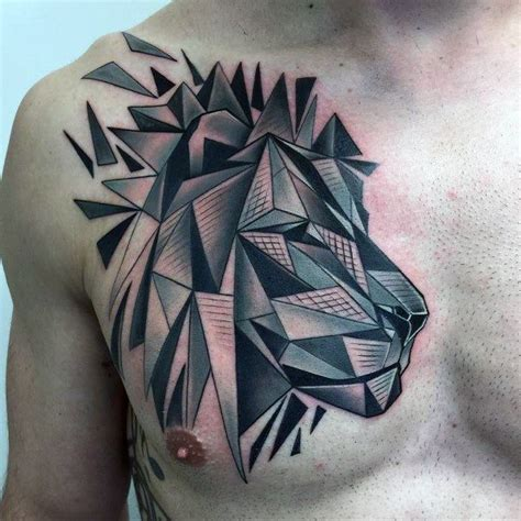 25 best ideas about lion chest tattoo on pinterest wolf
