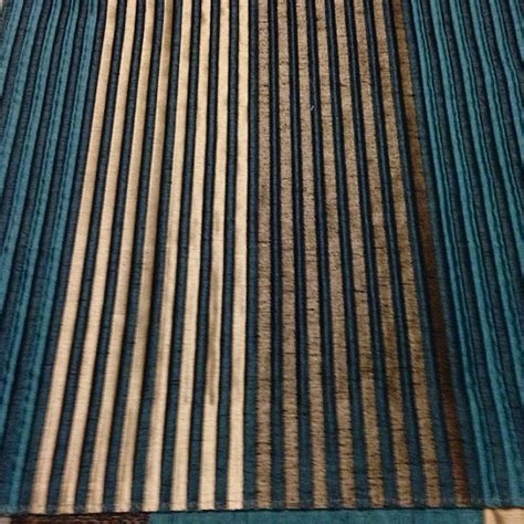 teal striped curtains custom teal curtains with small stripe pattern one 50in w x