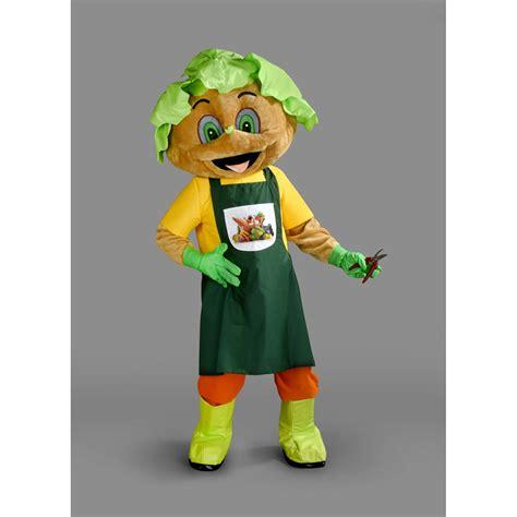 Gardener Costume by Veggy Gardener Mascot Costume