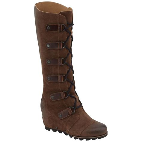 sorel s joan of arctic wedge ltr boot at moosejaw
