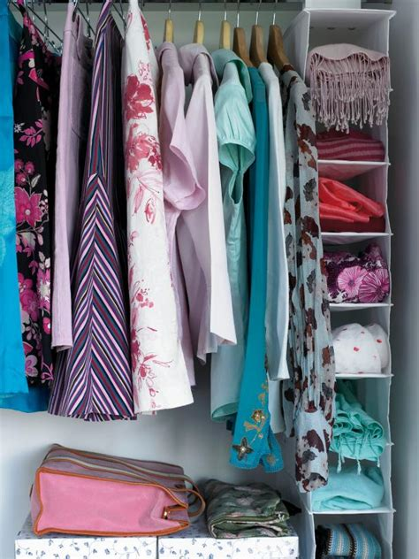 Organizing A Wardrobe by How To Organize Your Closet Hgtv