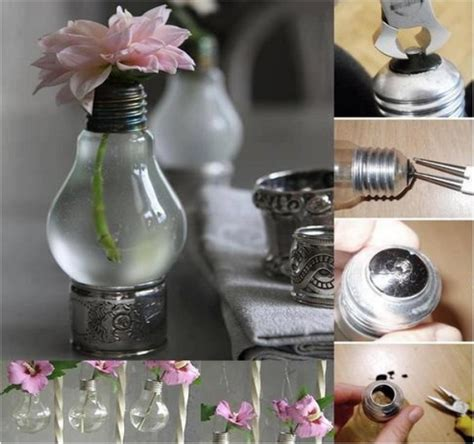 home decoration things design for home recycled light bulbs recycled things