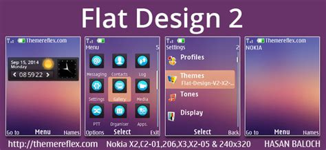 live themes for nokia x2 00 flat design 2 live theme for nokia x2 00 x2 02 x2 05 x3