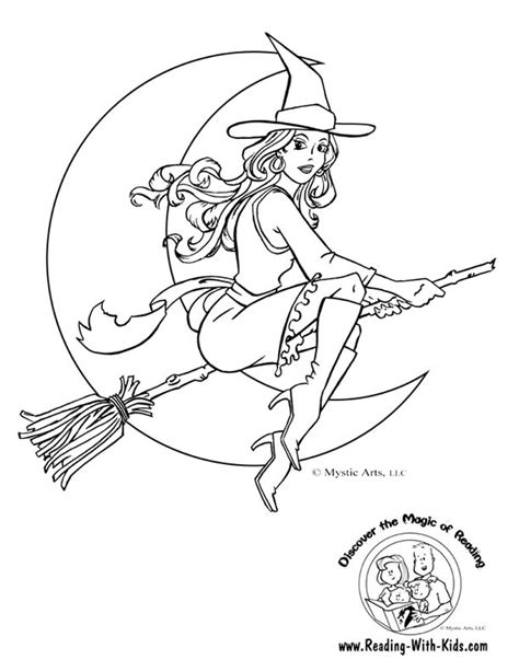 printable coloring pages witch halloween witch halloween coloring pages witch