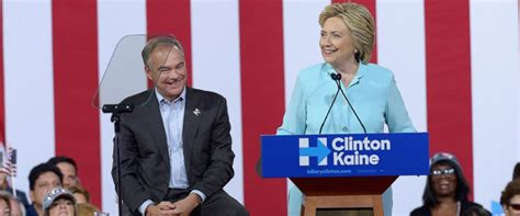 by picking anti abortion tim kaine hillary is testing analysis in kaine pick clinton shuns glitz for