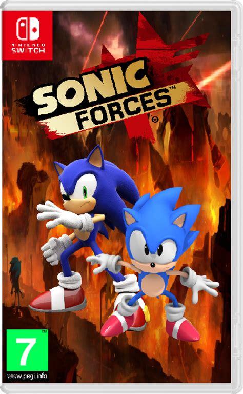 Nintendo Switch Sonic Forces Standard Edition artificialgreninja noah noordally deviantart
