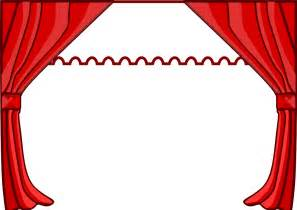 curtains theater artists curtains clip clipart