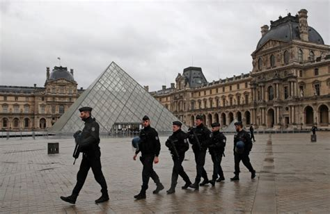 louvre museum sections louvre attack suspect silent during initial questioning