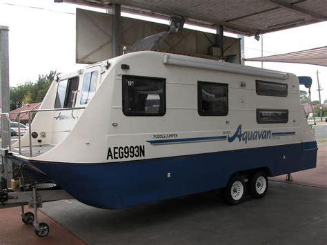 house boats for sale nsw for sale aquavan houseboat caravan