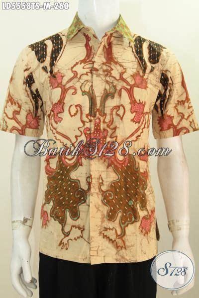 Hem Batik Kemeja Batik Bahan Katun Halus Db4052 2 batik hem keren bahan halus kwalitas premium kemeja batik santai lengan pendek tullis warna