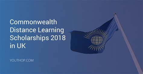 Distance Mba Uk by Commonwealth Distance Learning Scholarships 2018 In Uk