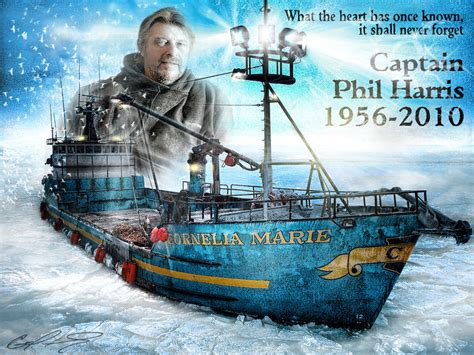 deadliest catch favorite capt phil harris voted deadliest catch brautigan s girl