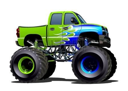 monster trucks clipart green clipart monster truck pencil and in color green